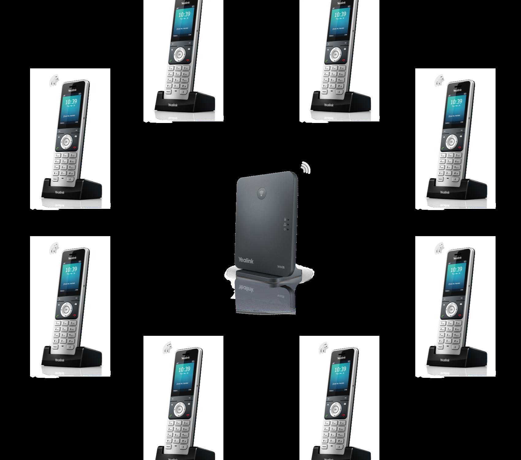 W60B-8 Handsets